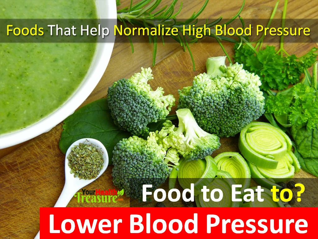 What Foods Cause High Blood Pressure