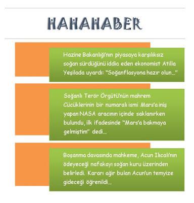 Hahahaber 27 Kasım