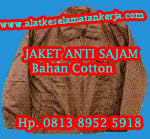 Jaket anti sajam bahan Cotton