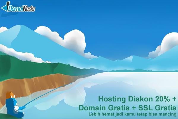 DOMAINESIA Penyedia Domain dan SSD Cloud Hosting Tercepat