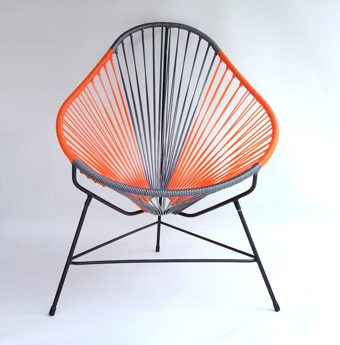Acapulco Chair Orange Handmade Dining Kiitos Living By Design Barwon Heads Chairs In