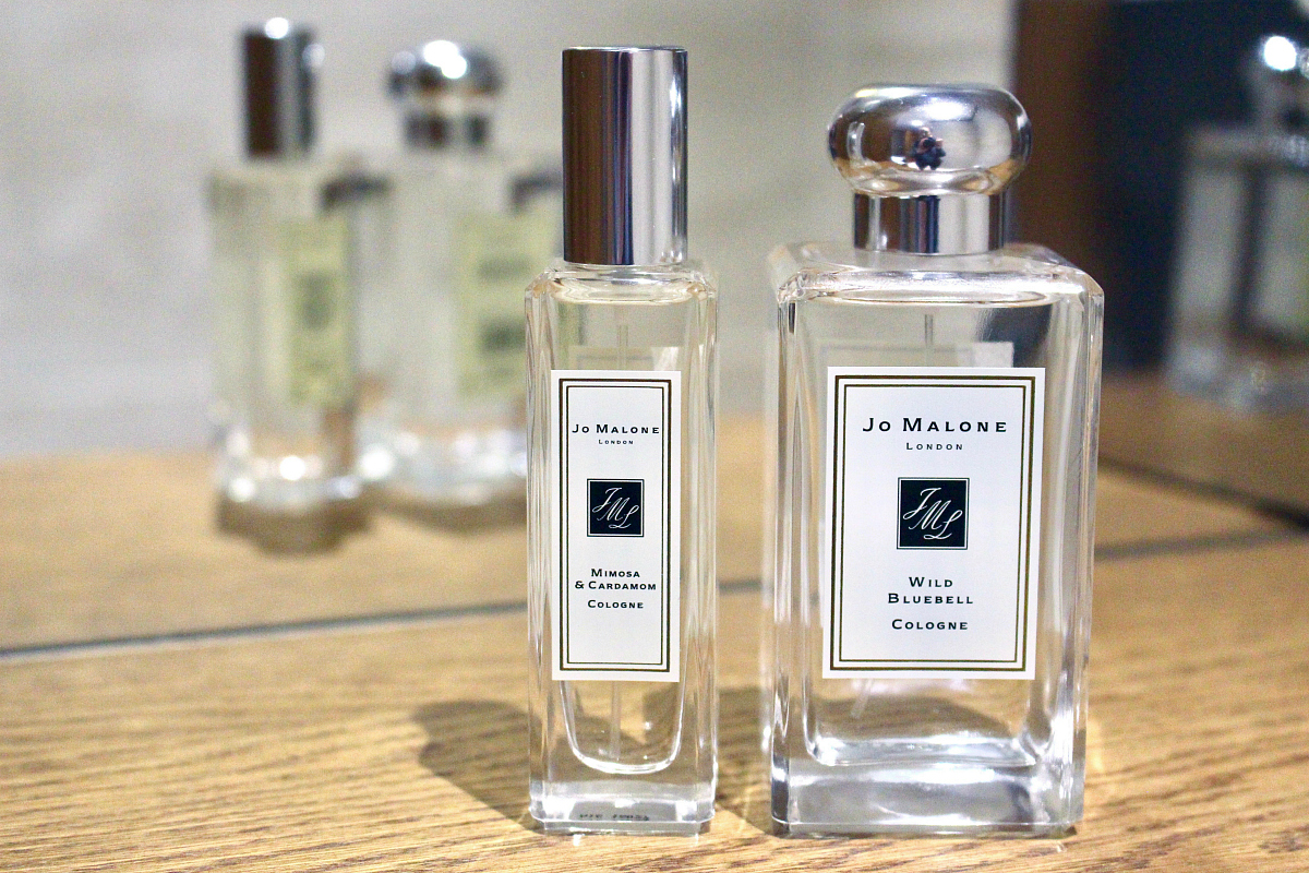 I used to always get a bottle of perfume for Christmas and wasn I Fell In Love With Jo Malone
