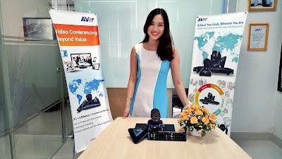 Khám phá thiết bị hội nghị truyền hình AVer EVC130