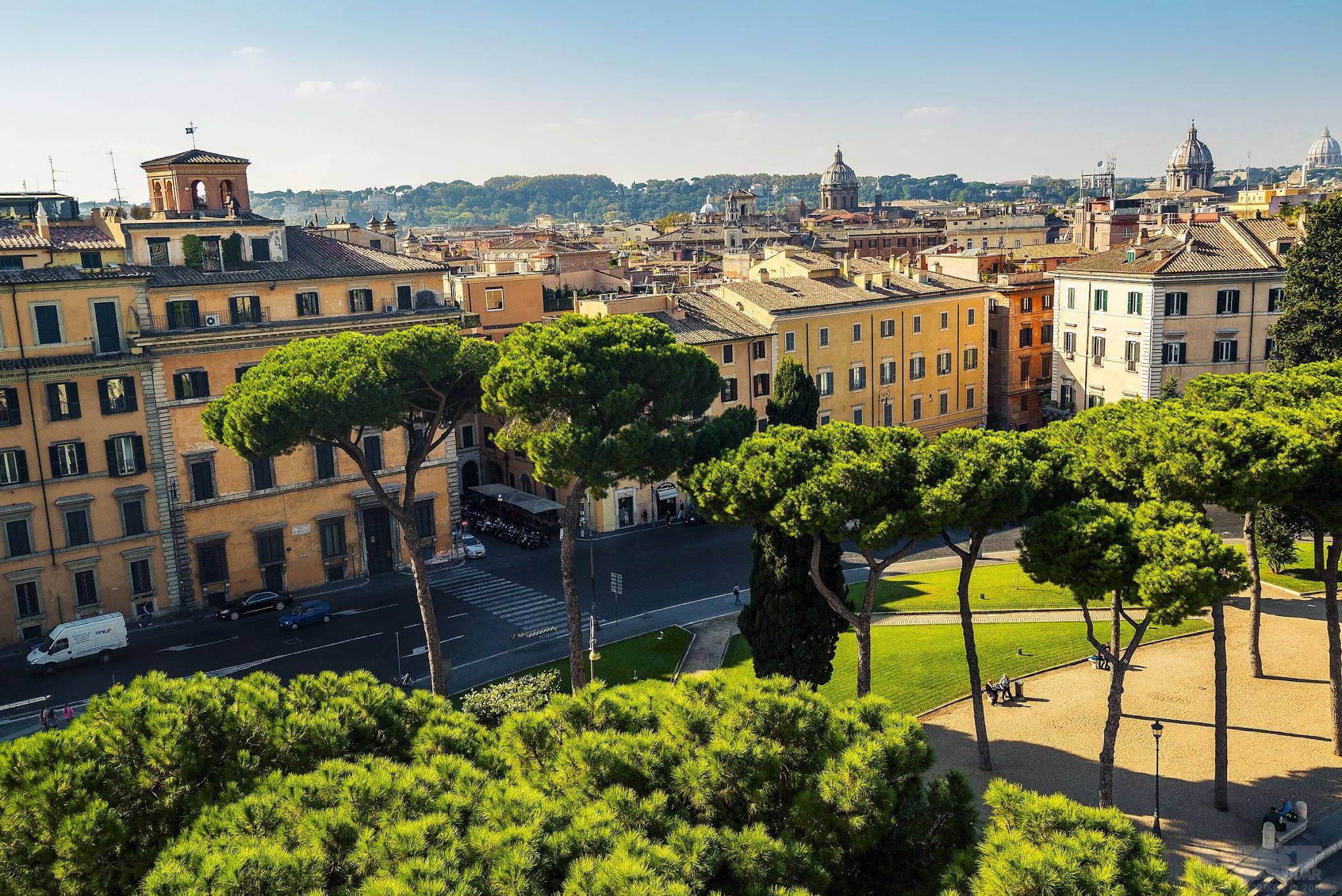 Рим из Витториано