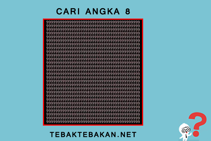 Cari Angka 8
