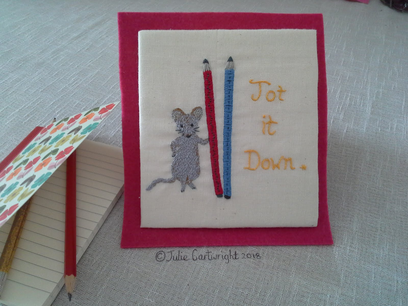 LITTLE MOUSE EMBROIDERY