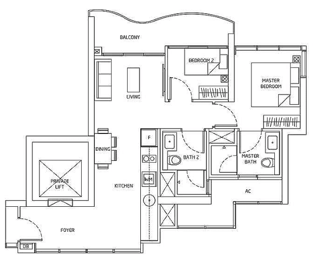 Queens Peak Floorplan4
