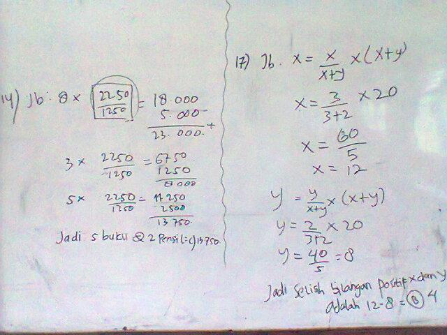 Kesalahan Siswa Dalam Mengerjakan Soal Matematika