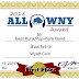 2018 ALL WNY AWARD: Best Punk/Pop-Punk Band: Wyatt Coin