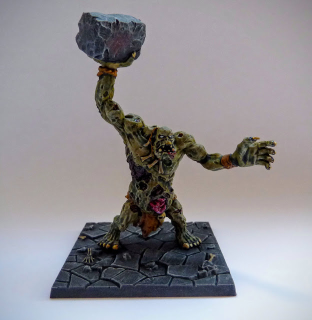 Dungeon Saga: Dwarf King's Quest painted zombie troll