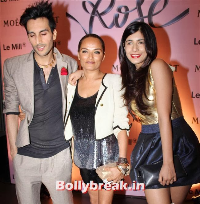Bandana Tewari and Ridhima Sood, Celebs at Moet and Chandon Valentines Day Celebrations