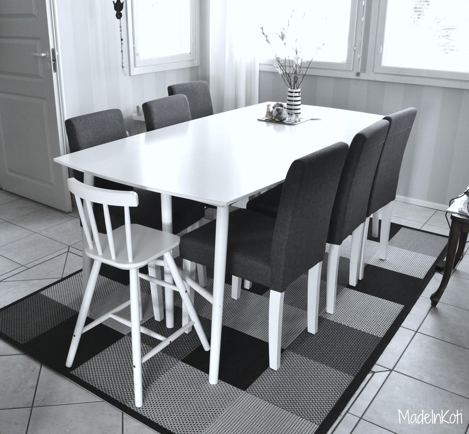Matto Ruokapöydän Alle