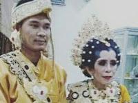 Demi Cinta, Pemuda 24 Tahun Ini Nikahi Perawan Berumur 55 Tahun