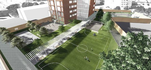 Proyecto del nuevo campus del colegio Reina Sofía en Bulgaria
