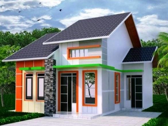 940 Gambar Desain Rumah Sederhana Hemat Biaya HD Terbaru