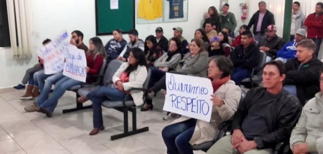 Iretama: Prefeito não respeita os servidores municipais!
