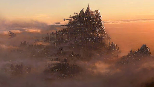 london city from mortal engines concept design