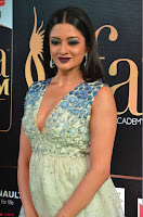 Vimala Raman in Spicy Deep Neck Sleeveless Dress at IIFA Utsavam Awards 2017  Day 2 at  11.JPG