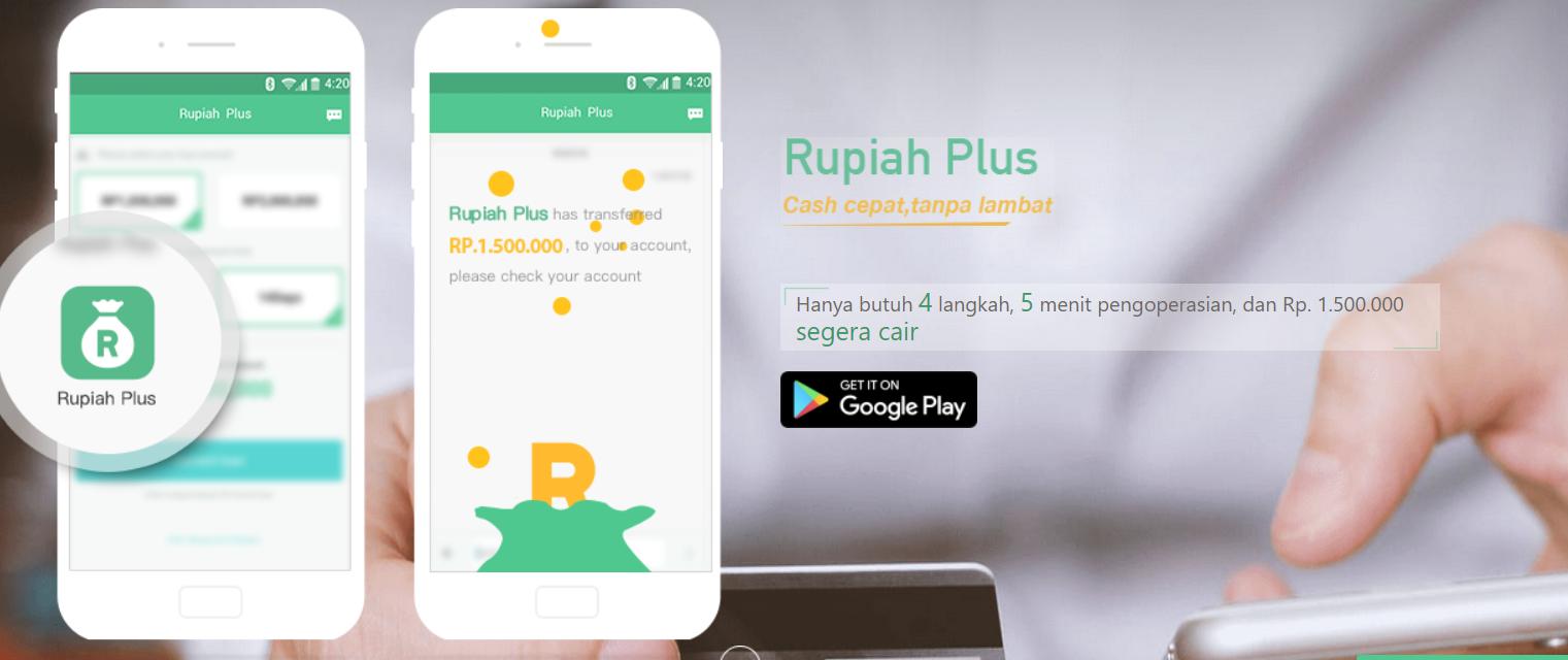 aplikasi pinjaman online Rupiah Plus