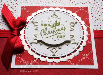 Heart's Delight Cards, Christmas Traditions Punch Box, Christmas Card, Stampin' Up!