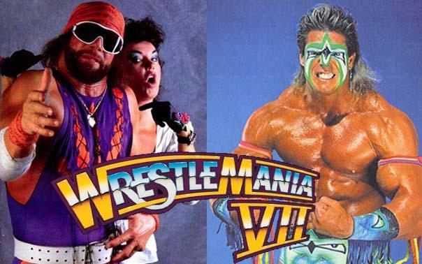WrestleMania: 04/16/13 Ultimate Warrior Undertaker Bossman