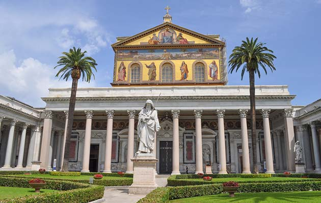 Five Less Visited Churches in Rome