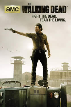 Capa Terceira Temporada de The Walking Dead