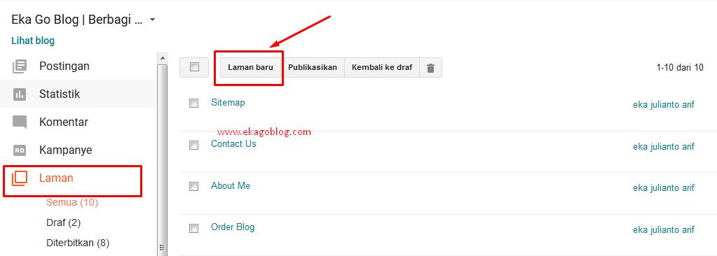 Tutorial Cara Mudah Membuat Sitemaps Di Blog Anda