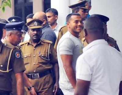 Yoshitha Rajapaksa have been brought to the Kaduwela Magistrate Cour