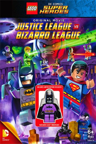 Lego DC Comics Super Heroes: Justice League Vs. Bizarro [2015] [DVD FULL] [Latino]