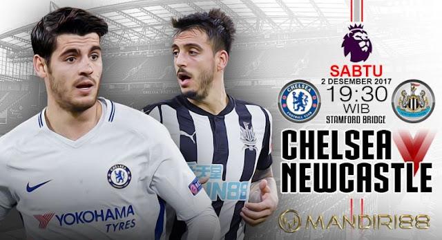 Prediksi Bola : Chelsea Vs Newcastle United , Sabtu 02 Desember 2017 Pukul 19.30 WIB
