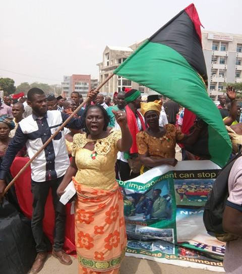 More Igbo traditional leaders, town groups, age grades troop out to support Nnamdi Kanu
