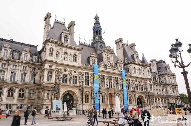 review, Honeymoon, france, Paris, รีวิว, ฝรั่งเศส, ฮันนีมูน,hotel de ville