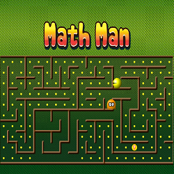 Math Game: Math Man