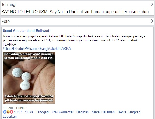 Heboh!! Ustadz Palsu Abu Janda Tuding yang Ajak Nobar Film PKI dan Percaya PKI Bangkit Mabok Flakka