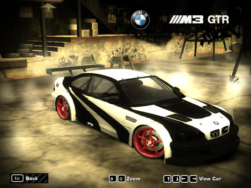Nfs Most Wanted Bmw M3 Gtr Vinyl Sunshinefasr