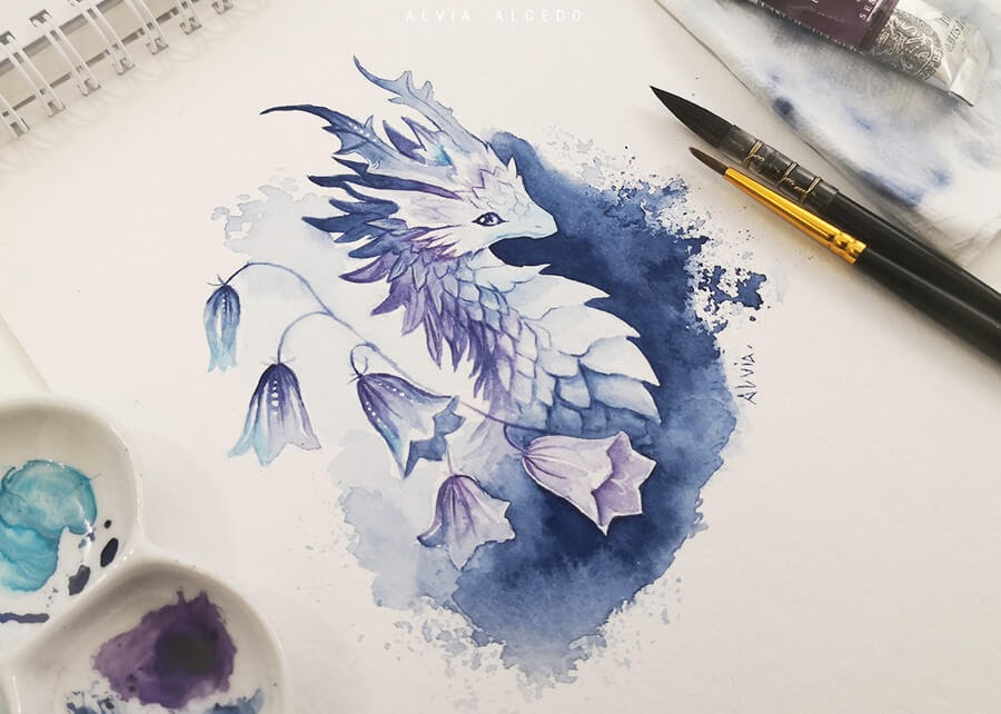 07-Bellflower-dragon-Alvia-Alcedo-www-designstack-co