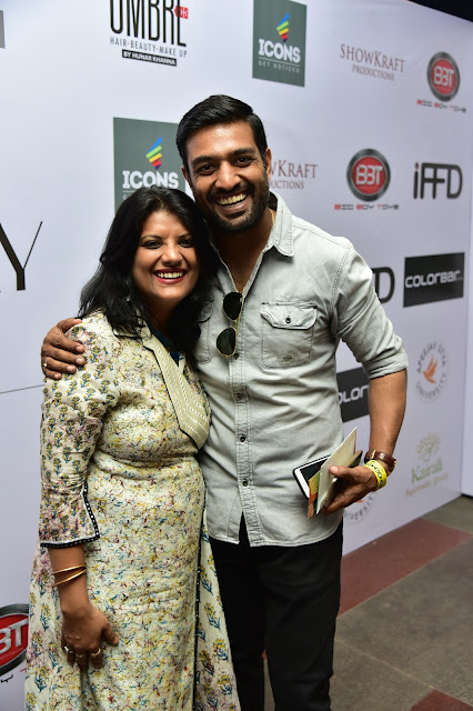 Designer Poonam Dubey and Manoj Attri-