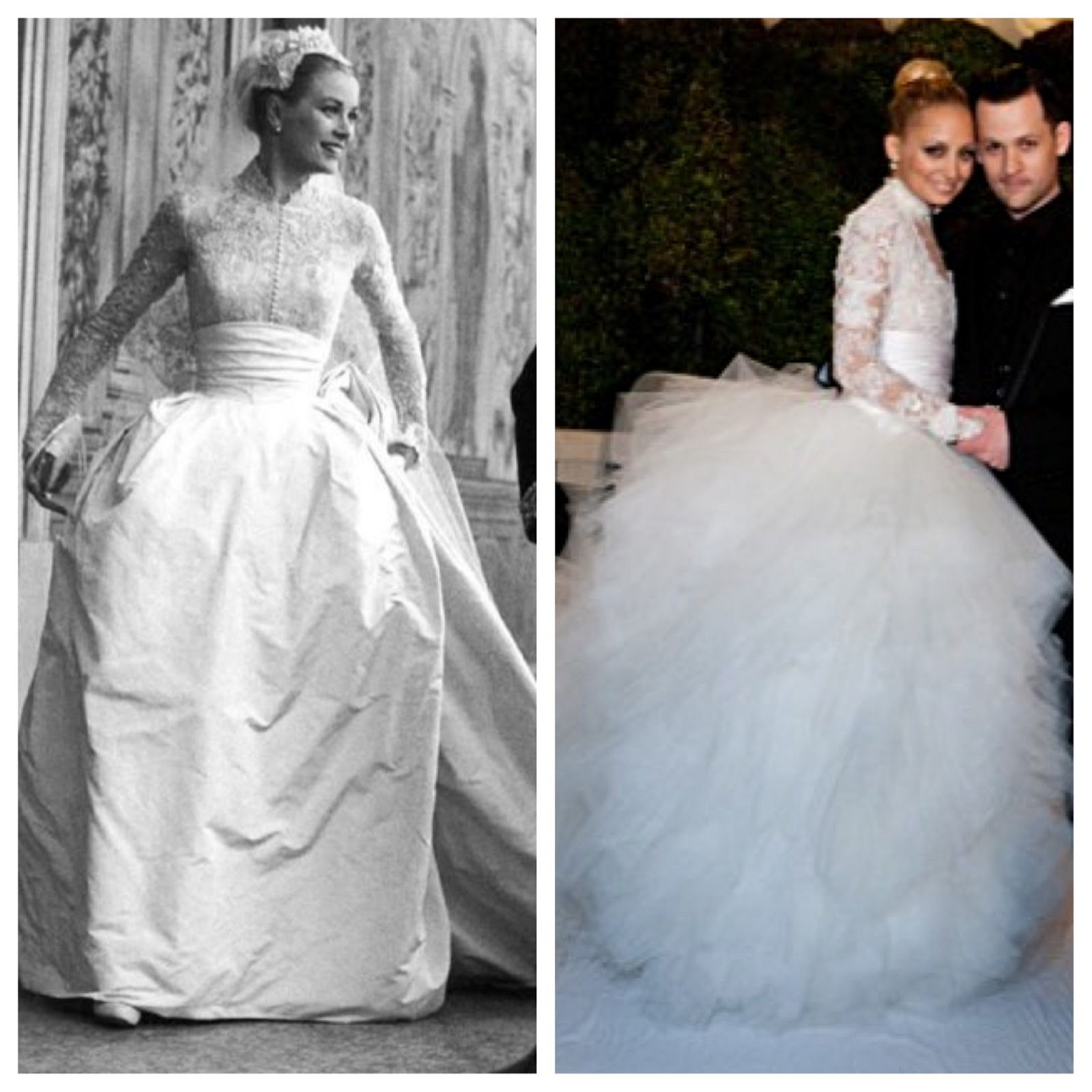 Nicole Richie Wedding Gown: The Woman Wearing It: Wedding Belles