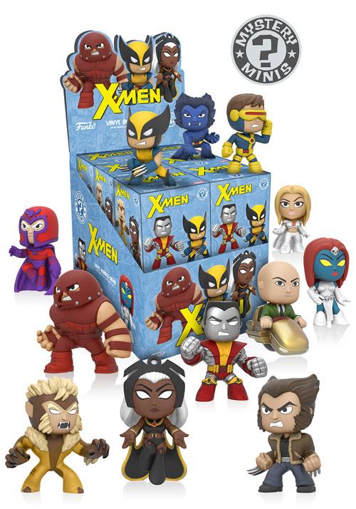 The Blot Says X Men Marvel Mystery Minis Blind Box