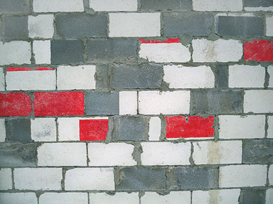 urban photography, urban decay, urban photo, contemporary, art, Sam Freek, red bricks,