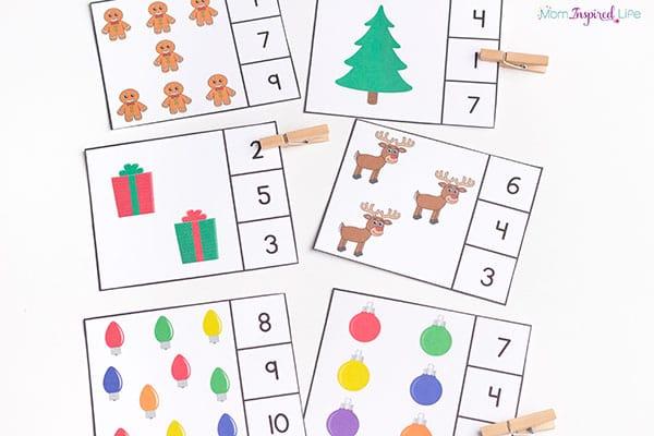 Weihnachts-BINGO (für bis zu 20 Spieler)