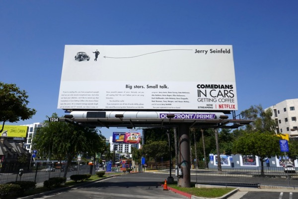 Comedians in Cars Getting Coffee Netflix season 10 billboard