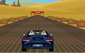 لعبة السيارة الرياضية السريعة