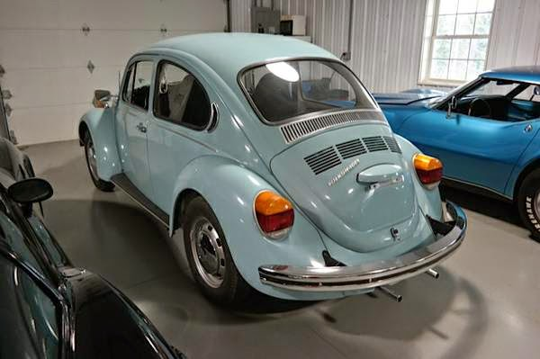 Original 1973 Volkswagen Beetle With Ford Face Auto