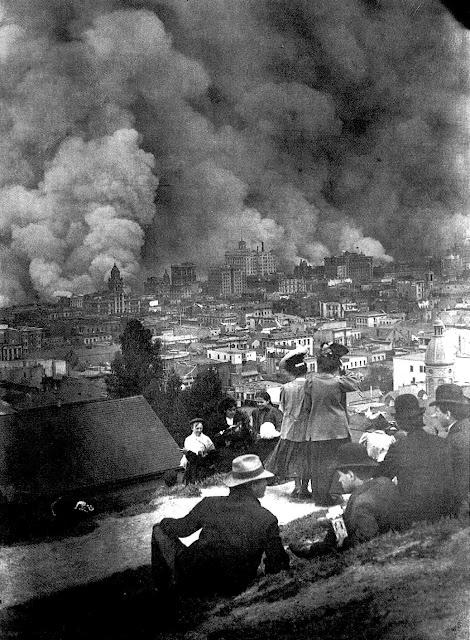 Arnold Genthe photo San Fancisco 1906