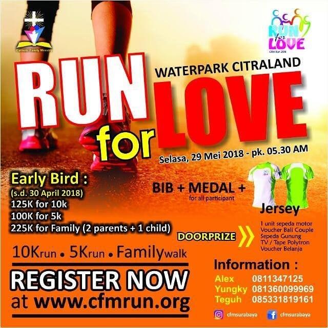 CFM Run - Run for Love • 2018