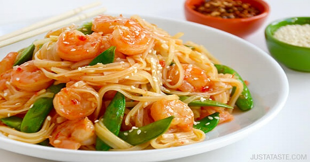 20-Minute Sweet And Sour Shrimp Stir-Fry Recipe