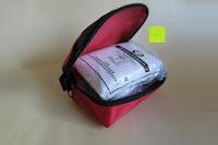 Tasche öffnen: ORA-TEC 32-teiliges Erste-Hilfe-Set im praktischen Etui mit Gürtelschlaufe