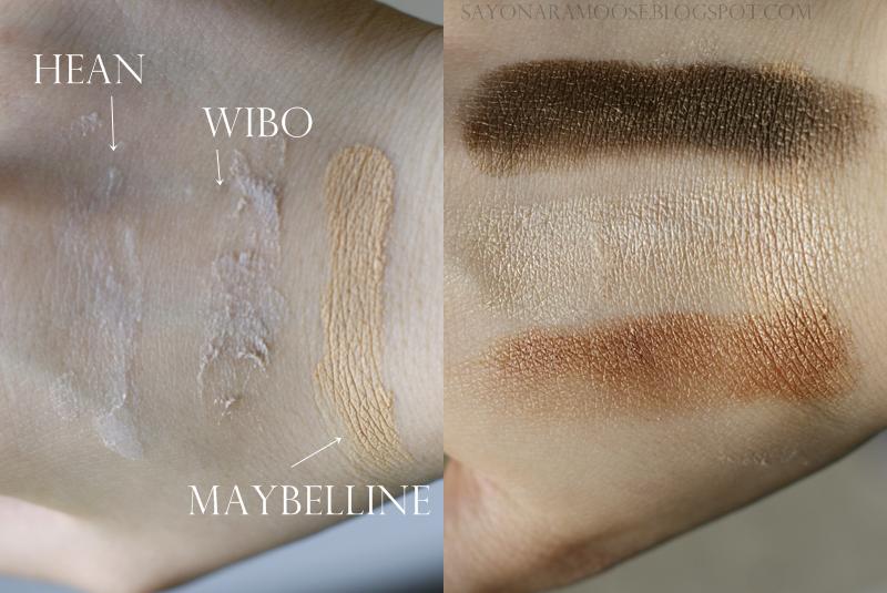 Przegl d baz pod cienie hean wibo i maybelline for Maybelline color tattoo creme de nude